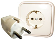 Type F Electrical Outlet